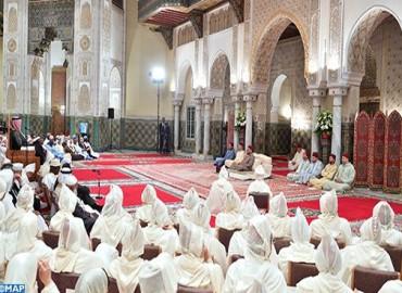 SM el Rey, Amir Al Muminin, preside la cuarta charla religiosa del mes del Ramadán