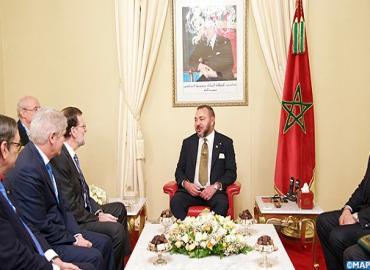 SM le Roi reçoit à Marrakech le Président du gouvernement espagnol