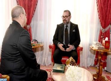 S.M. le Roi reçoit M. Ahmed Chaouki Benayoub et le nomme au poste de Délégué interministériel aux droits de l'Homme