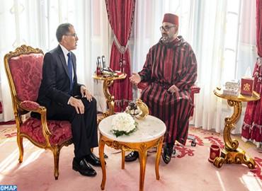 بلاغ من الديوان الملكي: جلالة الملك محمد السادس يستقبل رئيس الحكومة