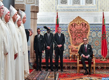 HM the King Receives New Walis, Governors Appointed at Territorial, Central Administrations