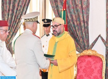 Throne Day: HM the King Receives Best Wishes of Royal Armed Forces