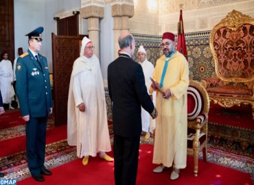 HM the King Receives Several Foreign Ambassadors in Rabat