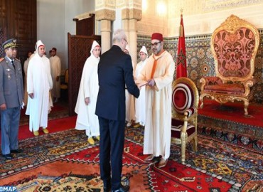 HM the King Receives Several Foreign Ambassadors