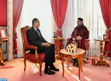 Comunicado del Gabinete Real: Su Majestad el Rey Mohammed VI recibe a Ahmed Reda Chami