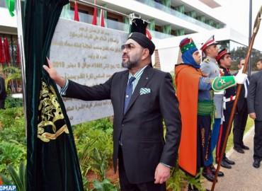 Sa Majesté le Roi inaugure le Complexe Mohammed VI de Football, une structure intégrée dédiée à la performance et à l'excellence