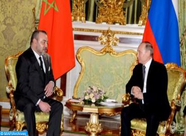 SM el Rey felicita a Vladimir Putin con ocasión de su reelección como presidente de Rusia