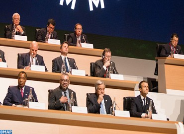 HM the King Takes Part in Paris in One Planet Summit