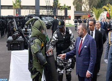 SM le Roi visite la Direction Générale de la Surveillance du Territoire national (DGST) et inaugure son Institut de formation spécialisée