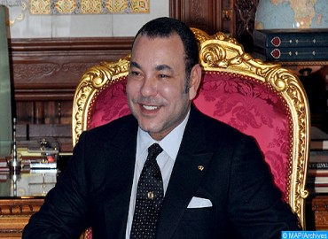 HM the king Congratulates Mohand Laenser over Re-election as Secretary-general of MP Party