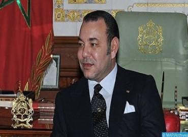 جلالة الملك يهنئ رئيس الجمهورية اللبنانية بمناسبة العيد الوطني لبلاده