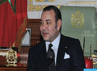 جلالة الملك يهنئ رئيس جمهورية مدغشقر بمناسبة احتفال بلاده بعيدها الوطني