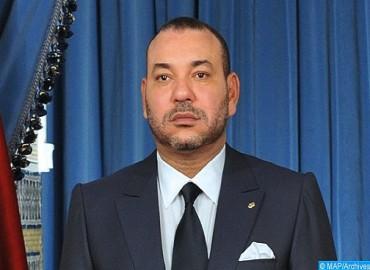 برقية تعزية ومواساة من جلالة الملك إلى رئيس دولة الإمارات العربية المتحدة إثر وفاة والدته