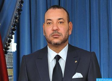 برقية تعزية من جلالة الملك إلى رئيس جمهورية جورجيا على إثر وفاة الرئيس الجورجي السابق