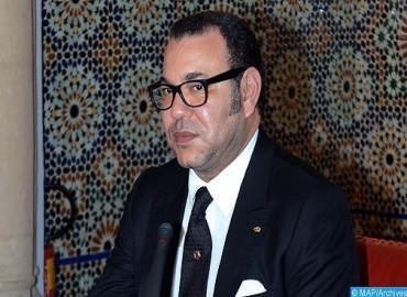 برقية تهنئة من جلالة الملك إلى السيد ميغيل دياز كانيل بيرموديز بمناسبة انتخابه رئيسا لمجلس الدولة ولمجلس الوزراء في جمهورية كوبا