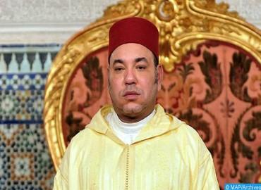 Message de condoléances et de compassion de SM le Roi au Sultan d'Oman Haitham ben Tarek ben Taimur