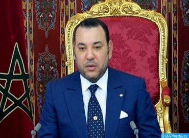 SM le Roi, Président du Comité Al-Qods adresse un message au Président des USA