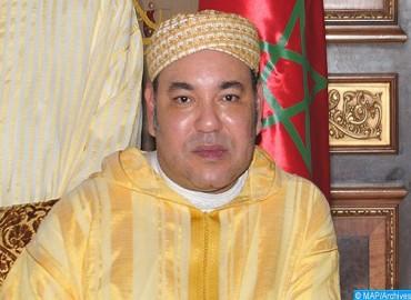 Message de félicitations de SM le Roi, Amir Al-Mouminine, au Pape François à l'occasion du 5è anniversaire de son Pontificat