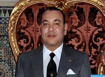 SM le Roi félicite le président de Monténégro à l'occasion de la fête nationale de son pays