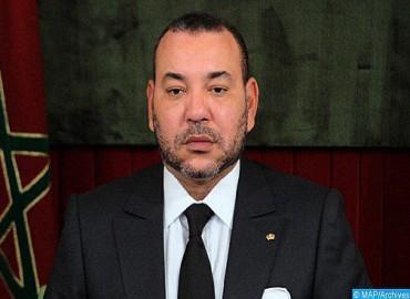 جلالة الملك يعرب للرئيس الفرنسي عن دعم المغرب وتضامنه مع فرنسا على إثر الحريق الذي اندلع في كاتدرائية نوتردام