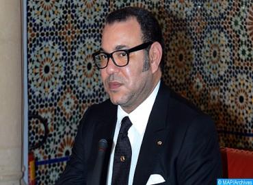 Message de fidélité et de loyalisme à SM le Roi Mohammed VI du président de la Chambre des conseillers à l'occasion de la clôture de la session d'automne