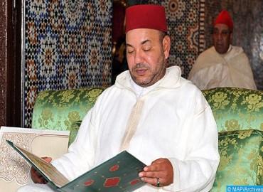 Ministère de la Maison Royale, du Protocole et de la Chancellerie: SM le Roi, Amir Al Mouminine, présidera vendredi à Rabat la première causerie religieuse du mois sacré de Ramadan