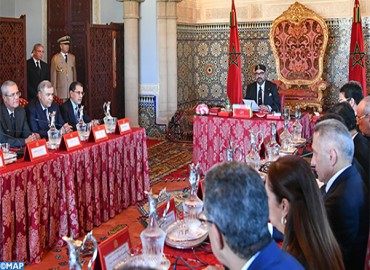 Su Majestad el Rey preside en Rabat un Consejo de Ministros