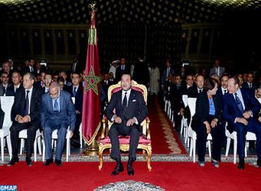SM le Roi procède au lancement du programme Tanger-Métropole