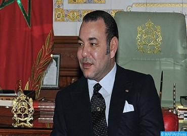 Message de félicitations de SM le Roi au Gouverneur général de Tuvalu à l'occasion de la fête de l'indépendance de son pays