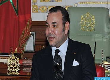 SM le Roi félicite le président de la République de Macédoine à l'occasion de la fête de l'indépendance de son pays