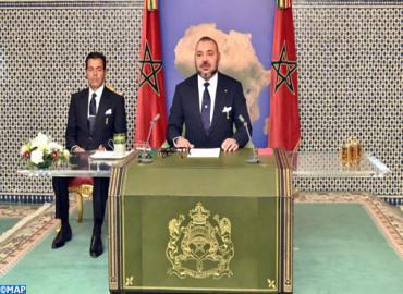 SM le Roi prononce à Dakar un discours à l'occasion du 41eme anniversaire de la Marche Verte