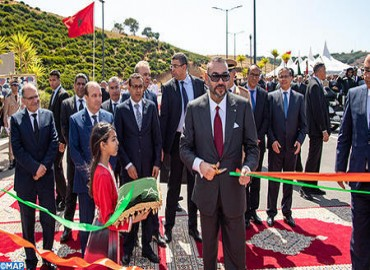 HM the King Inaugurates Rabat-Salé Urban Bypass No 2