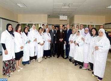 SM le Roi inaugure l'hôpital de la santé mentale et des maladies psychiatriques du CHU