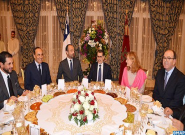 HM the King Offers Dinner in Honor of French Prime Minister