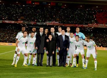 Sm le roi assiste marrakech la finale de la coupe du monde des clubs de la fifa maroc 2013 - La coupe du monde des clubs ...