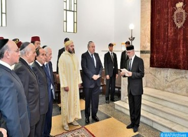 HM the King, Commander of the Faithful, Instructs Interior Minister to Organize Elections of Bodies Representing Moroccan Israelite Communities, Statement