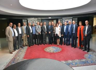 Le ministre de la Culture et de la Communication reçoit les membres du Conseil national de la presse