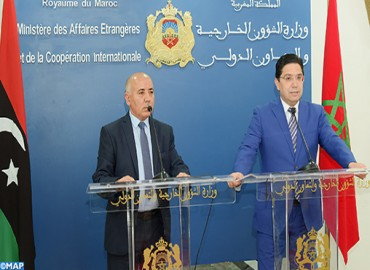 Foreign Minister : Morocco Reiterates Call on Libyan Parties to Favor Higher Interest and Adhere Seriously to Political Process