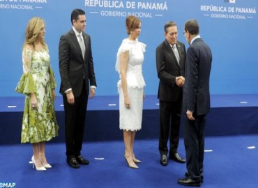 Government Chief Represents HM the King at Inauguration Ceremony of New Panama's President