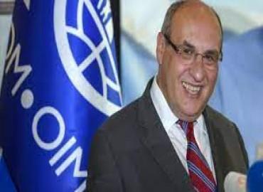 المدير العام للمنظمة الدولية للهجرة أنطونيو فيتورينو