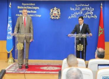 Crisis libia: Bourita subraya la necesidad de aprovechar los progresos realizados para que las elecc