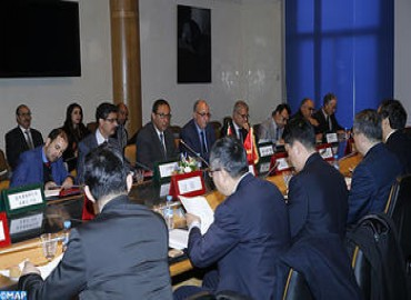 Morocco, China Commit to Reinforcing Cooperation in Infrastructure and Equipment Fields