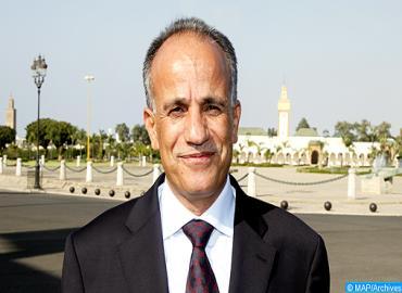 Le ministre charg du commerce ext rieur s 39 entretient avec for Ministre de l exterieur