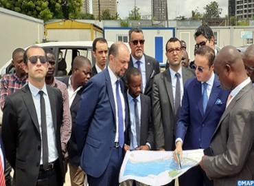 Bahía de Cocody en Abiyán: Jazouli se informa del avance de las obras