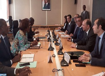 Série d'entretiens de M. Jazouli à Abidjan