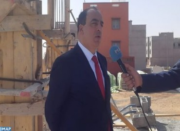 Le ministre de la Culture s'informe de l'avancement de plusieurs chantiers à Guelmim