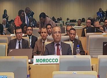 Le Maroc participe à Addis-Abeba aux travaux de la 35ème session ordinaire du Comité des représentants permanents de l'UA