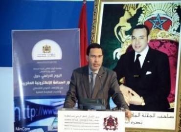 El Khalfi : la presse électronique, l'une des tribunes de liberté au Maroc
