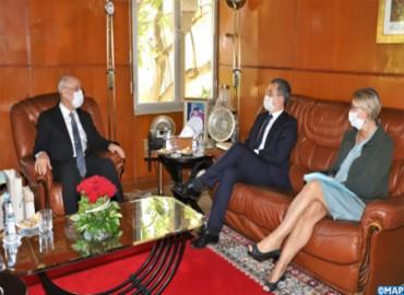 Taoufiq se entrevista con el ministro francés del Interior