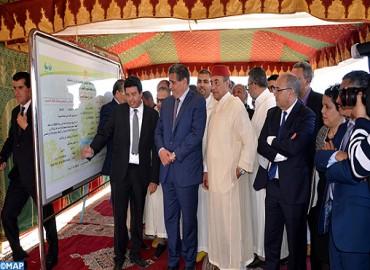 السيد أخنوش يعطي انطلاقة مشروعين فلاحيين في إطار مخطط المغرب الأخضر